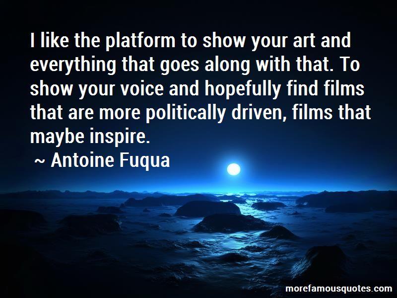 Antoine Fuqua Quotes