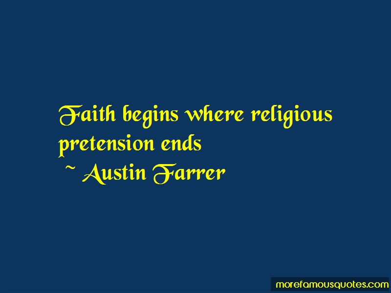 Austin Farrer Quotes Pictures 2