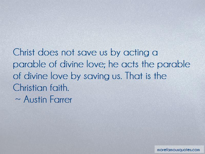 Austin Farrer Quotes