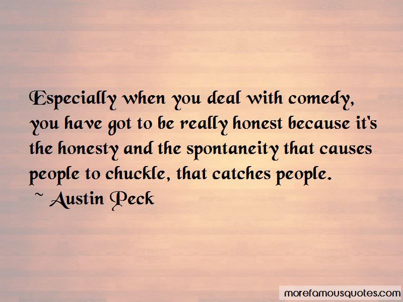 Austin Peck Quotes
