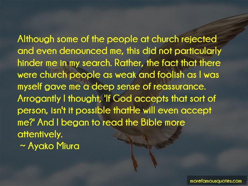 Ayako Miura Quotes
