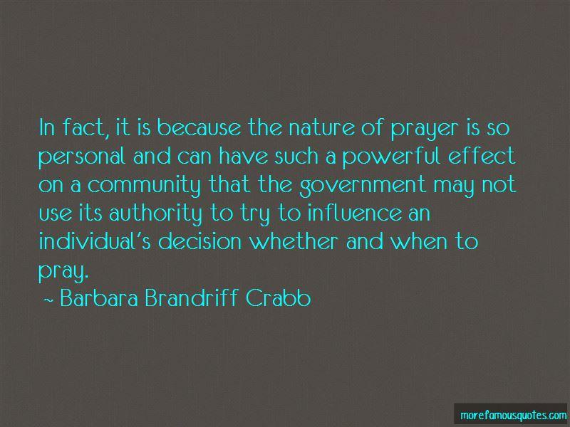 Barbara Brandriff Crabb Quotes