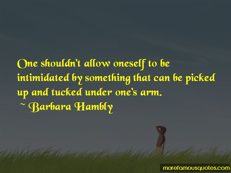 Barbara Hambly Quotes Pictures 2
