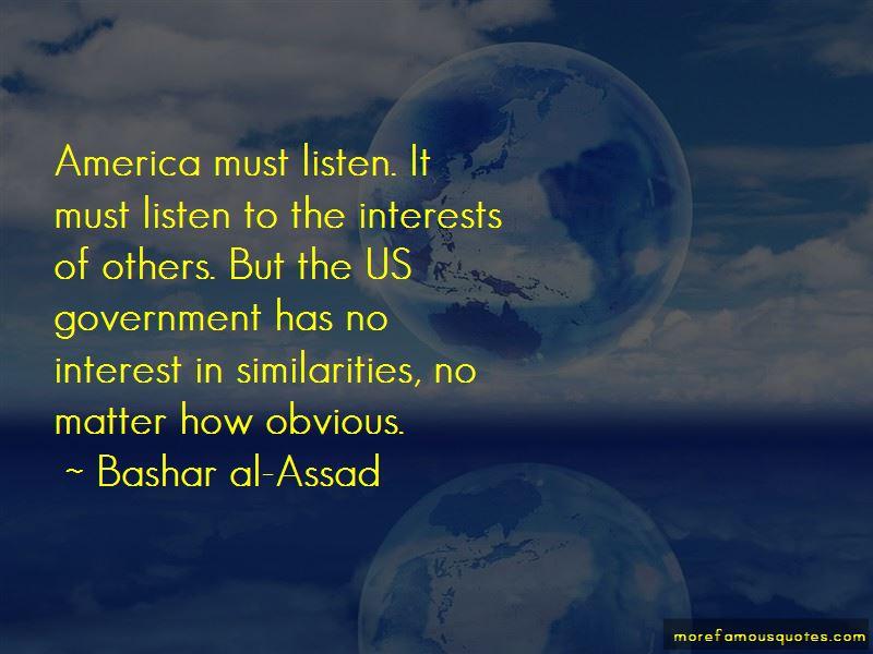 Bashar Al-Assad Quotes Pictures 3