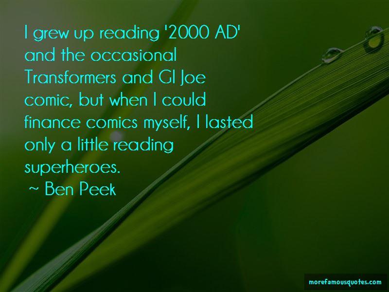 Ben Peek Quotes Pictures 4
