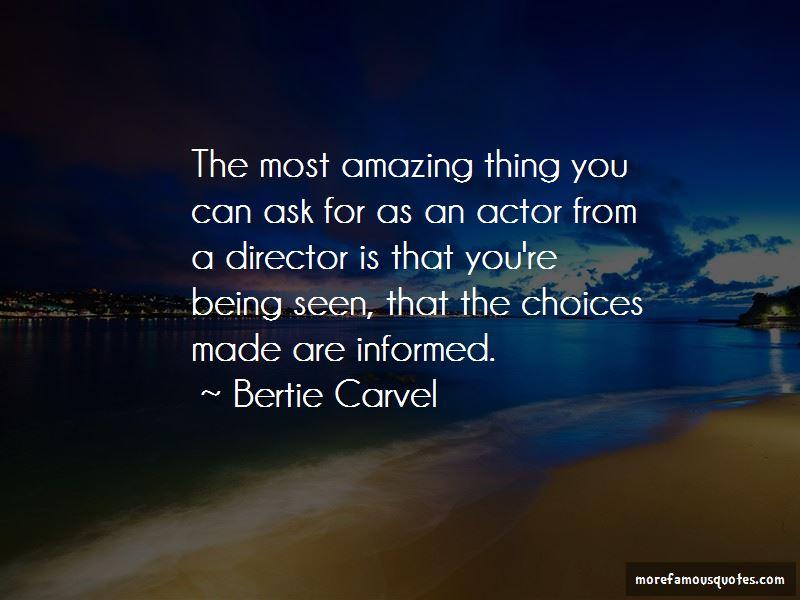 Bertie Carvel Quotes