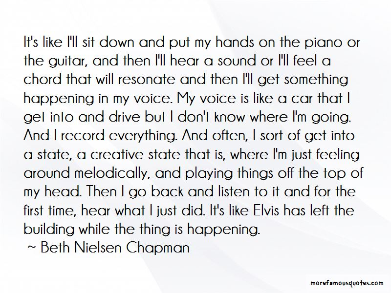 Beth Nielsen Chapman Quotes Pictures 3