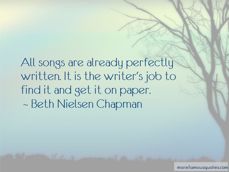 Beth Nielsen Chapman Quotes Pictures 4