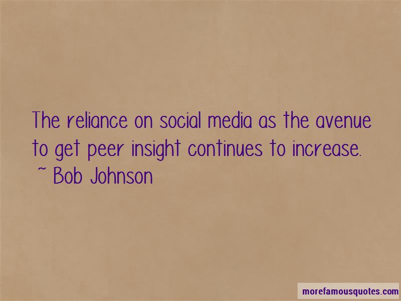 Bob Johnson Quotes Pictures 2