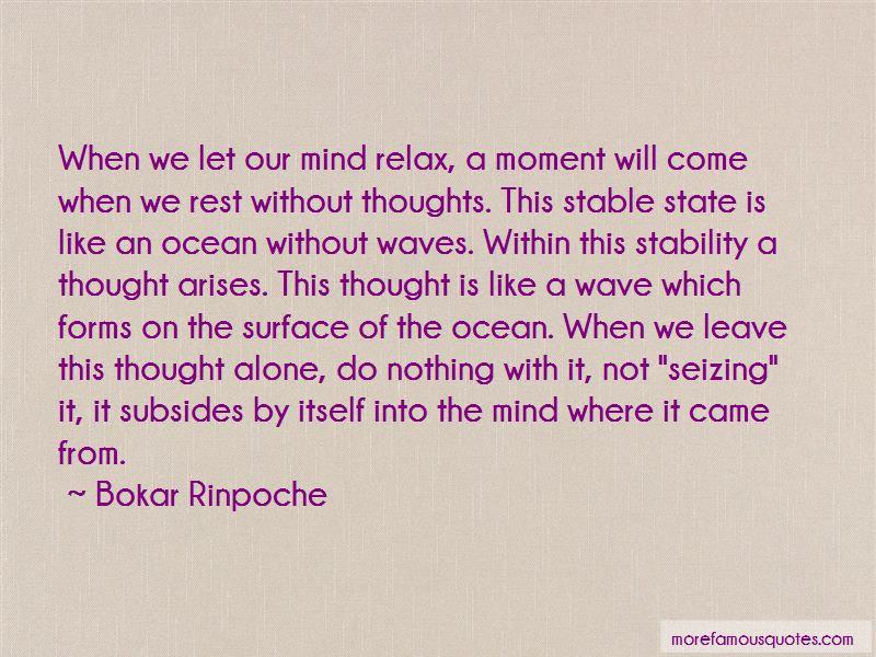 Bokar Rinpoche Quotes