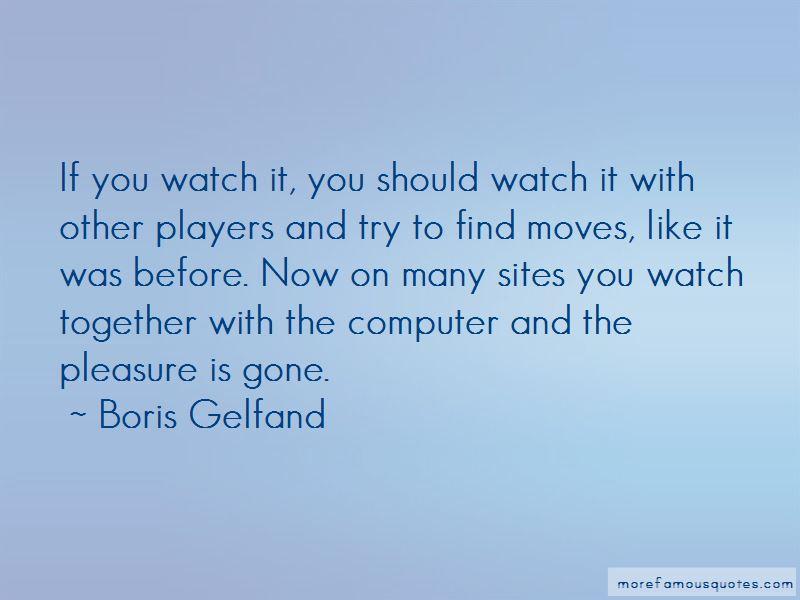 Boris Gelfand Quotes Pictures 2