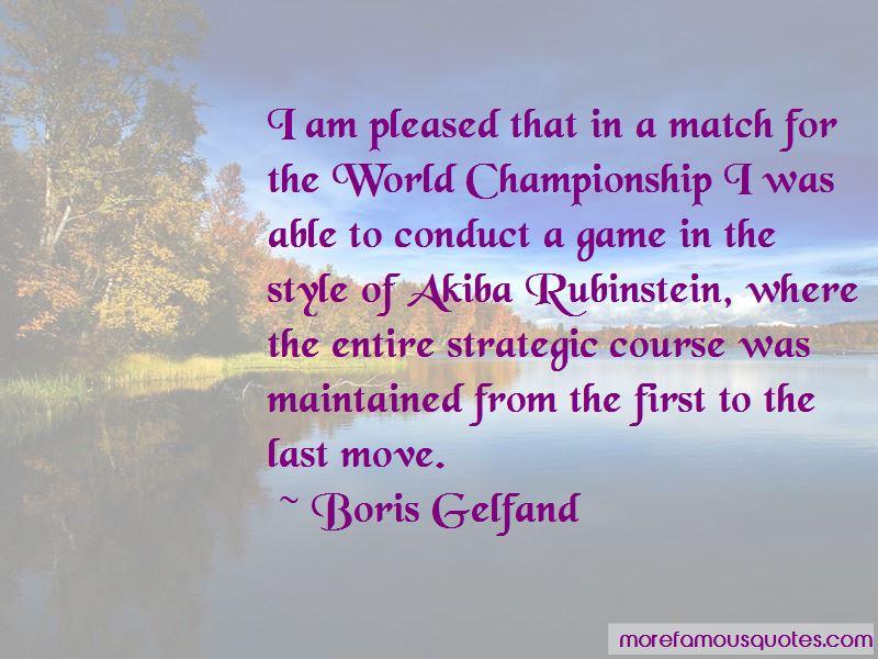 Boris Gelfand Quotes Pictures 4