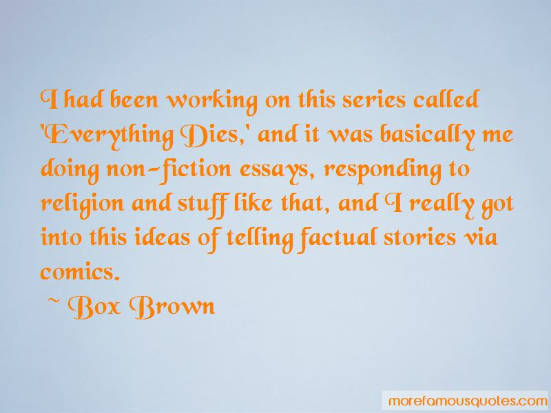 Box Brown Quotes Pictures 4