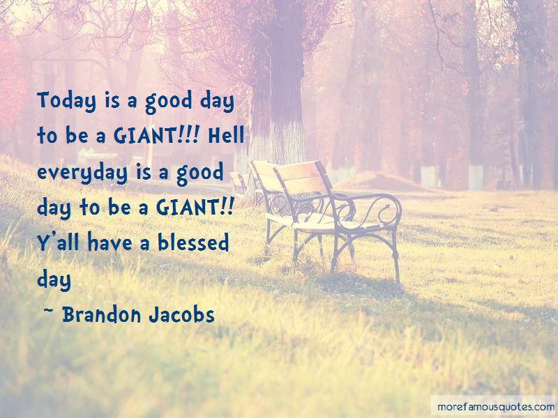 Brandon Jacobs Quotes