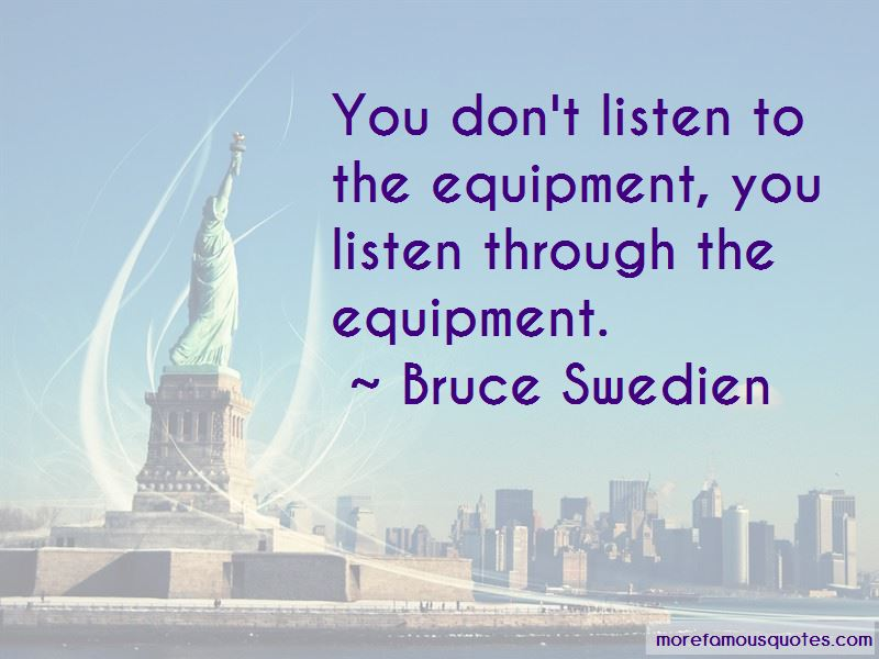 Bruce Swedien Quotes Pictures 3