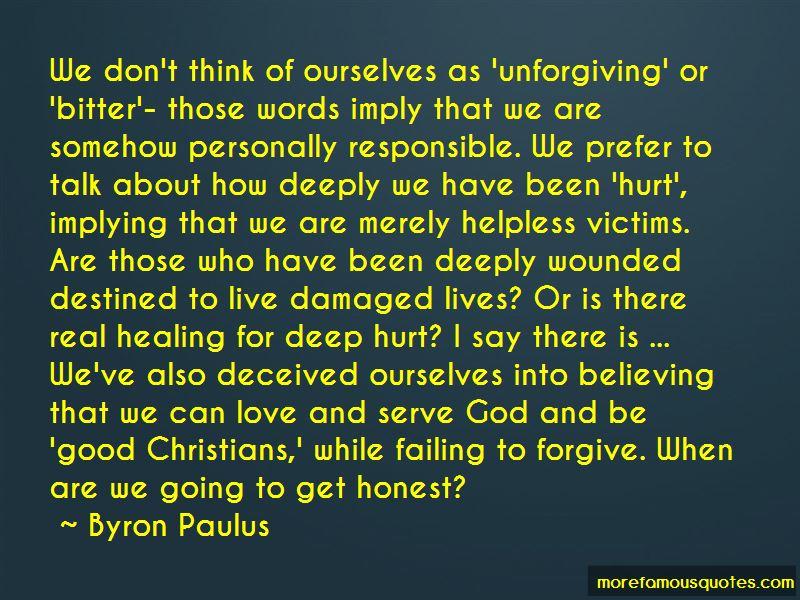 Byron Paulus Quotes