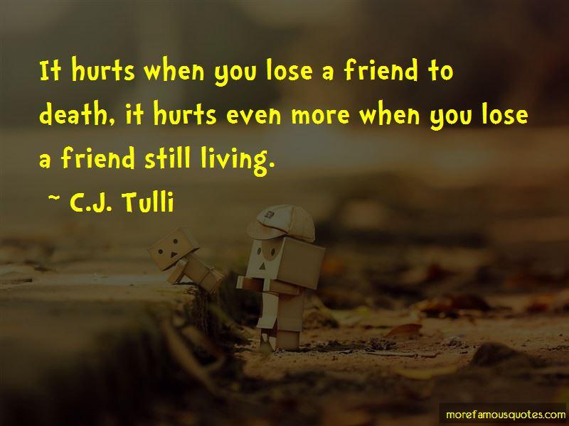 C.J. Tulli Quotes