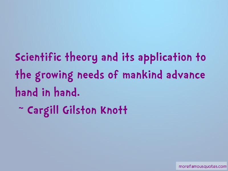 Cargill Gilston Knott Quotes Pictures 2