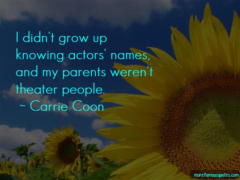 Carrie Coon Quotes Pictures 2