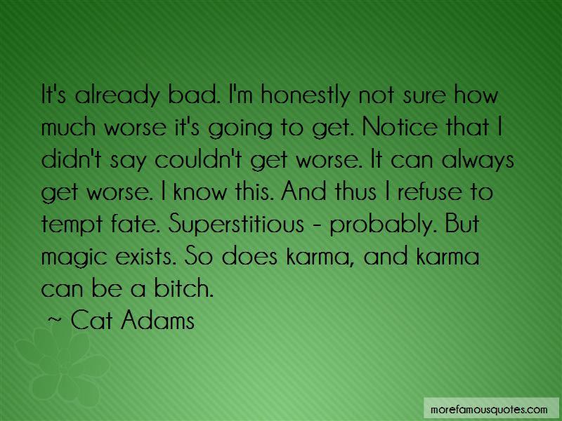 Cat Adams Quotes