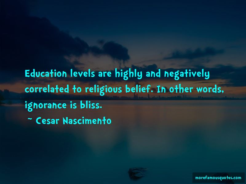 Cesar Nascimento Quotes