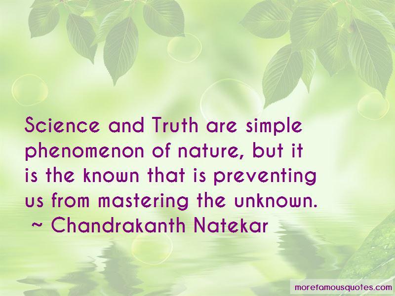Chandrakanth Natekar Quotes