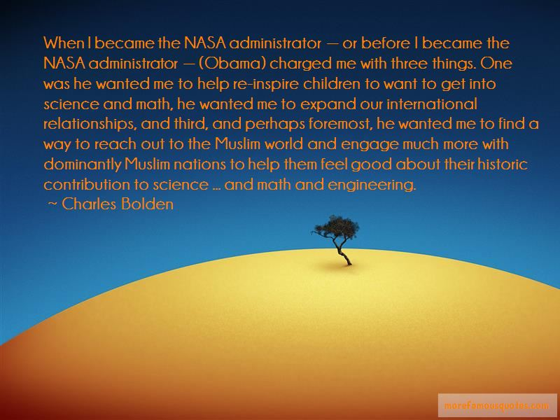 Charles Bolden Quotes Pictures 4