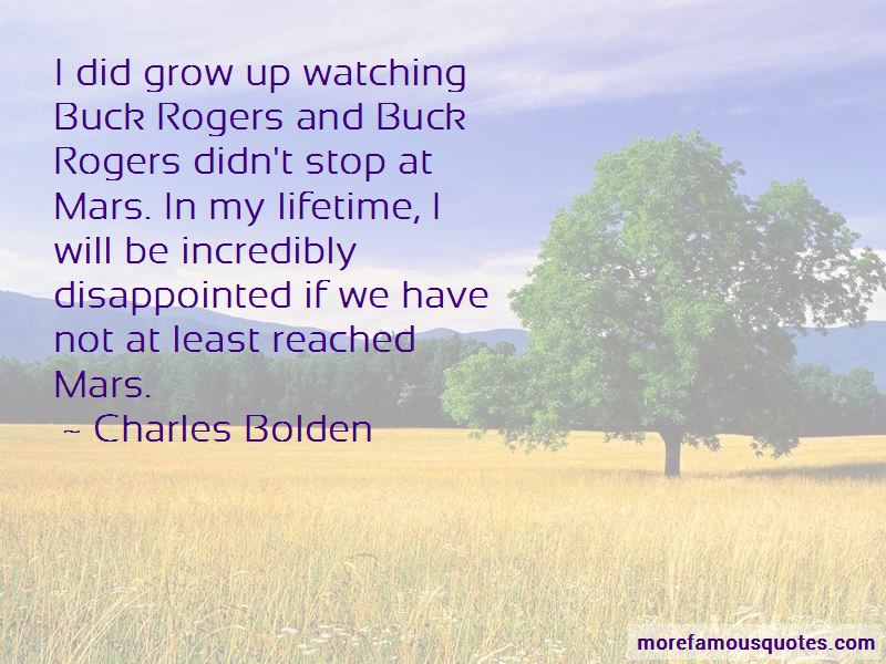 Charles Bolden Quotes