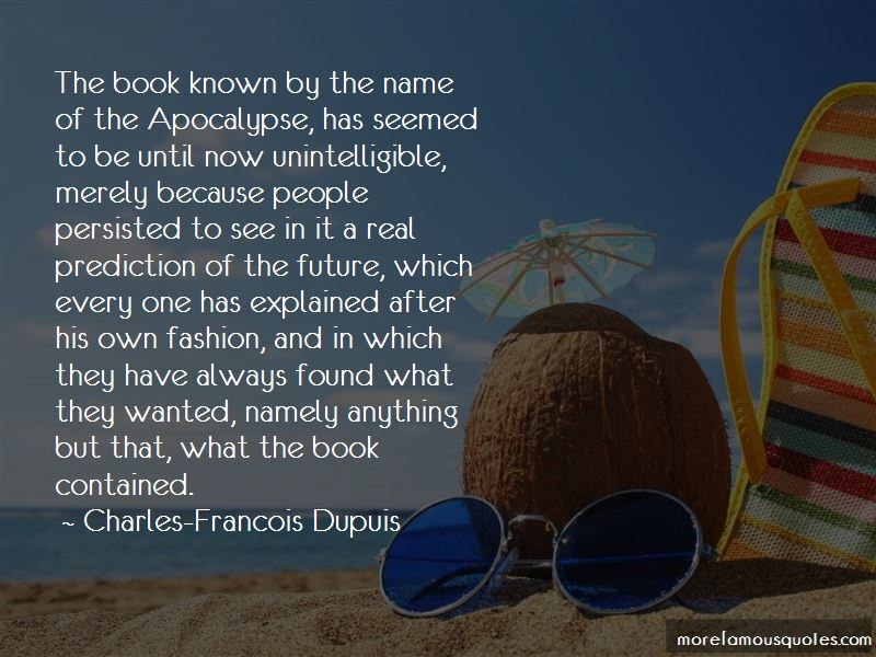 Charles-Francois Dupuis Quotes Pictures 2