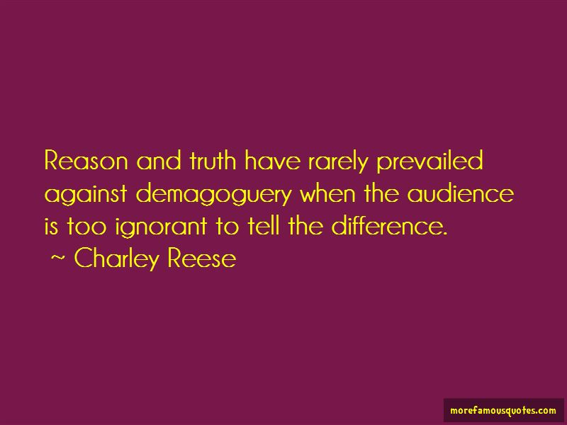 Charley Reese Quotes Pictures 4