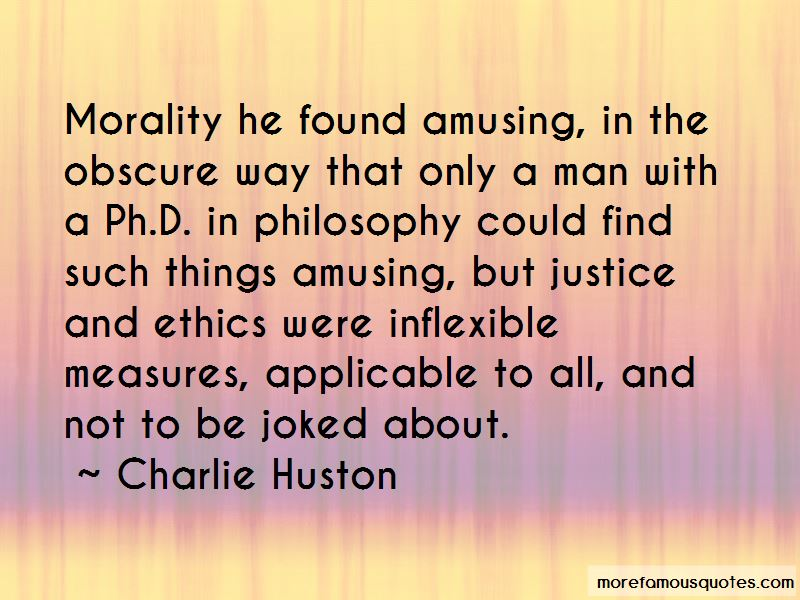 Charlie Huston Quotes Pictures 4