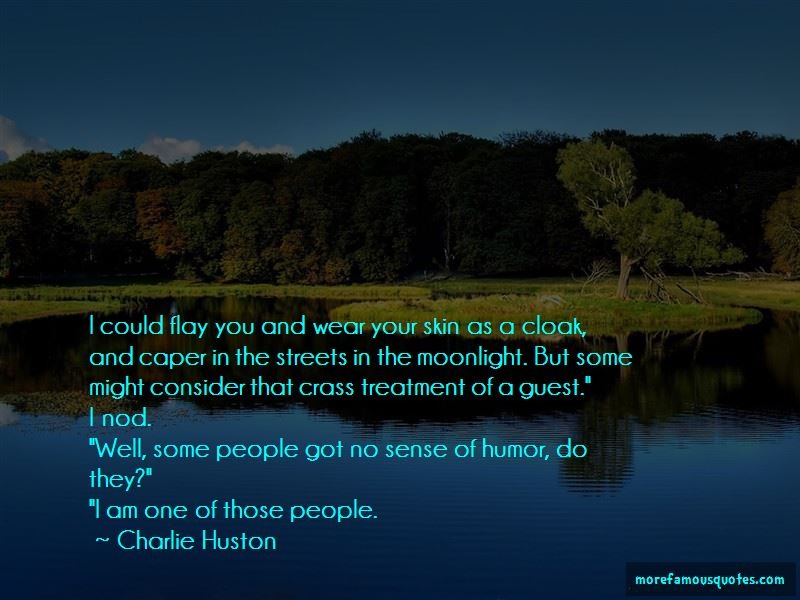 Charlie Huston Quotes