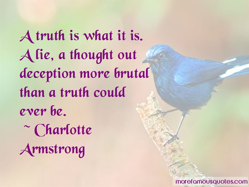 Charlotte Armstrong Quotes