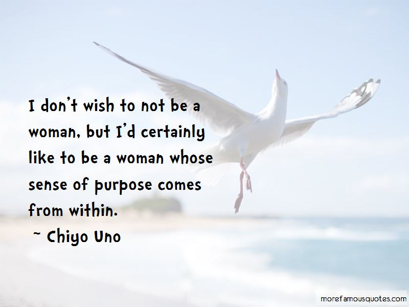 Chiyo Uno Quotes Pictures 2