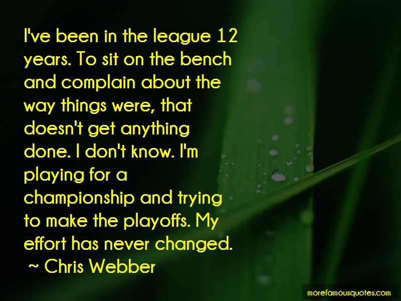 Chris Webber Quotes Pictures 4