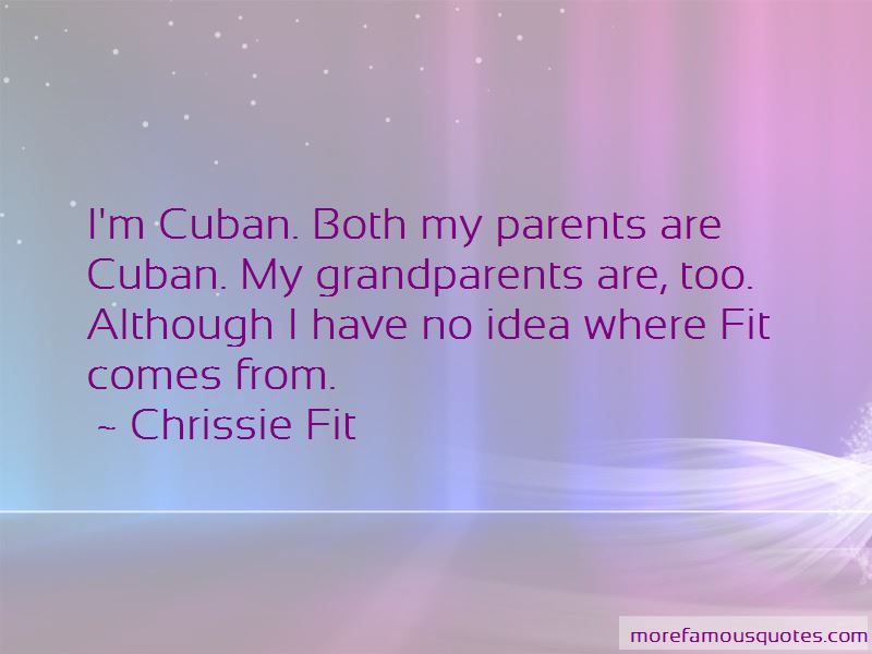 Chrissie Fit Quotes Pictures 4