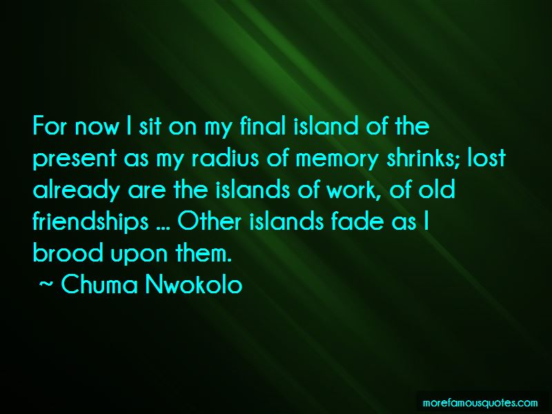 Chuma Nwokolo Quotes Pictures 2