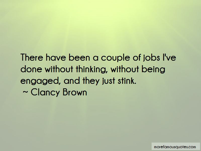 Clancy Brown Quotes Pictures 3