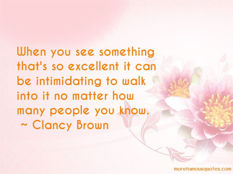 Clancy Brown Quotes Pictures 4