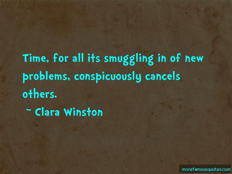 Clara Winston Quotes