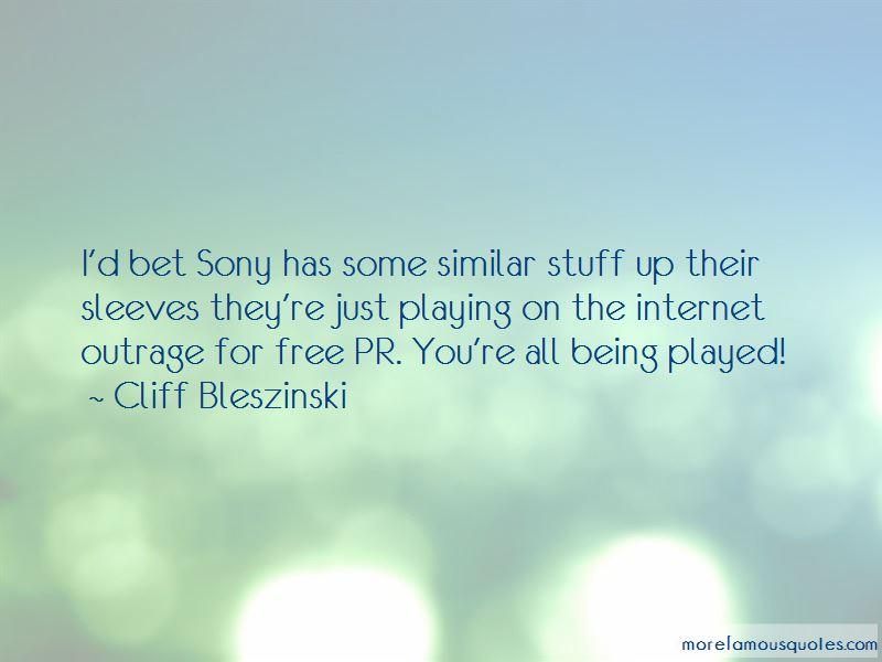 Cliff Bleszinski Quotes Pictures 3