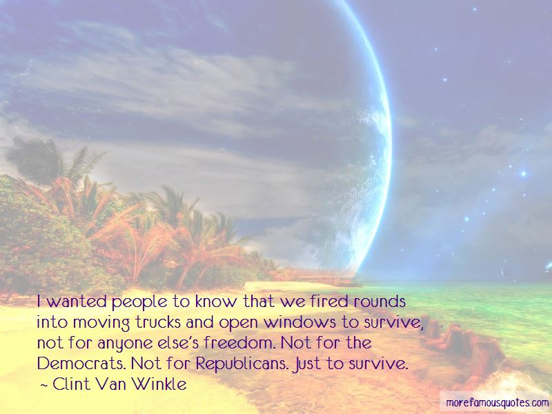 Clint Van Winkle Quotes Pictures 4