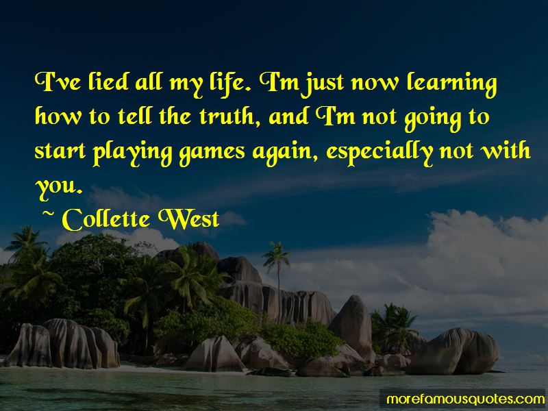 Collette West Quotes Pictures 2