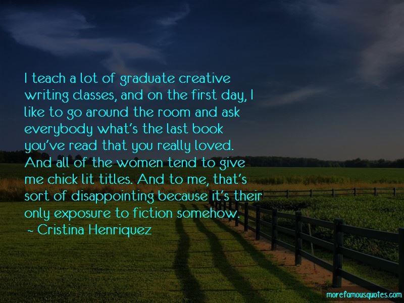 Cristina Henriquez Quotes Pictures 2