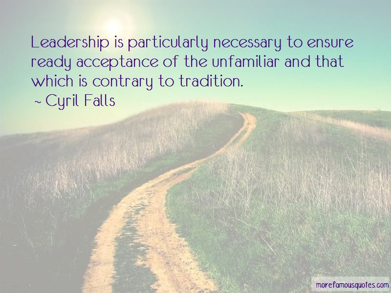 Cyril Falls Quotes Pictures 2