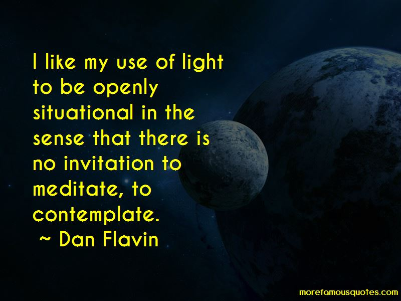 Dan Flavin Quotes Pictures 2