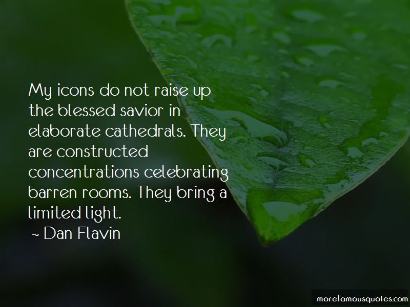 Dan Flavin Quotes Pictures 3