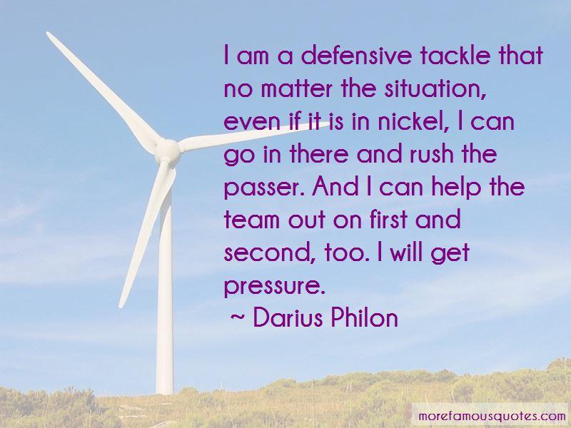 Darius Philon Quotes