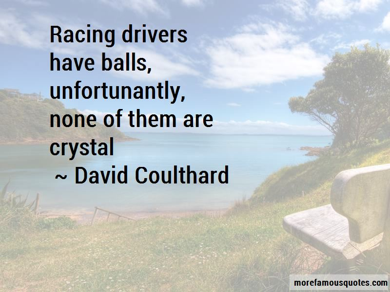 David Coulthard Quotes Pictures 3