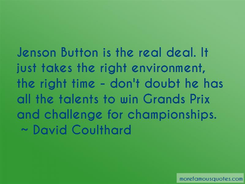 David Coulthard Quotes Pictures 4